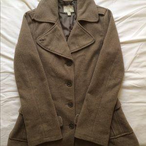 Converse One Star Woman's Tan Dress Jacket size sm